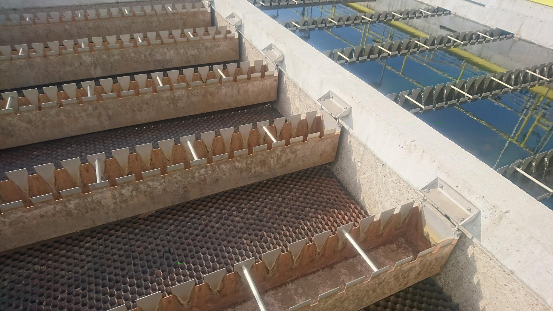 Úprava betonového povrchu nádrže proti kyselinám