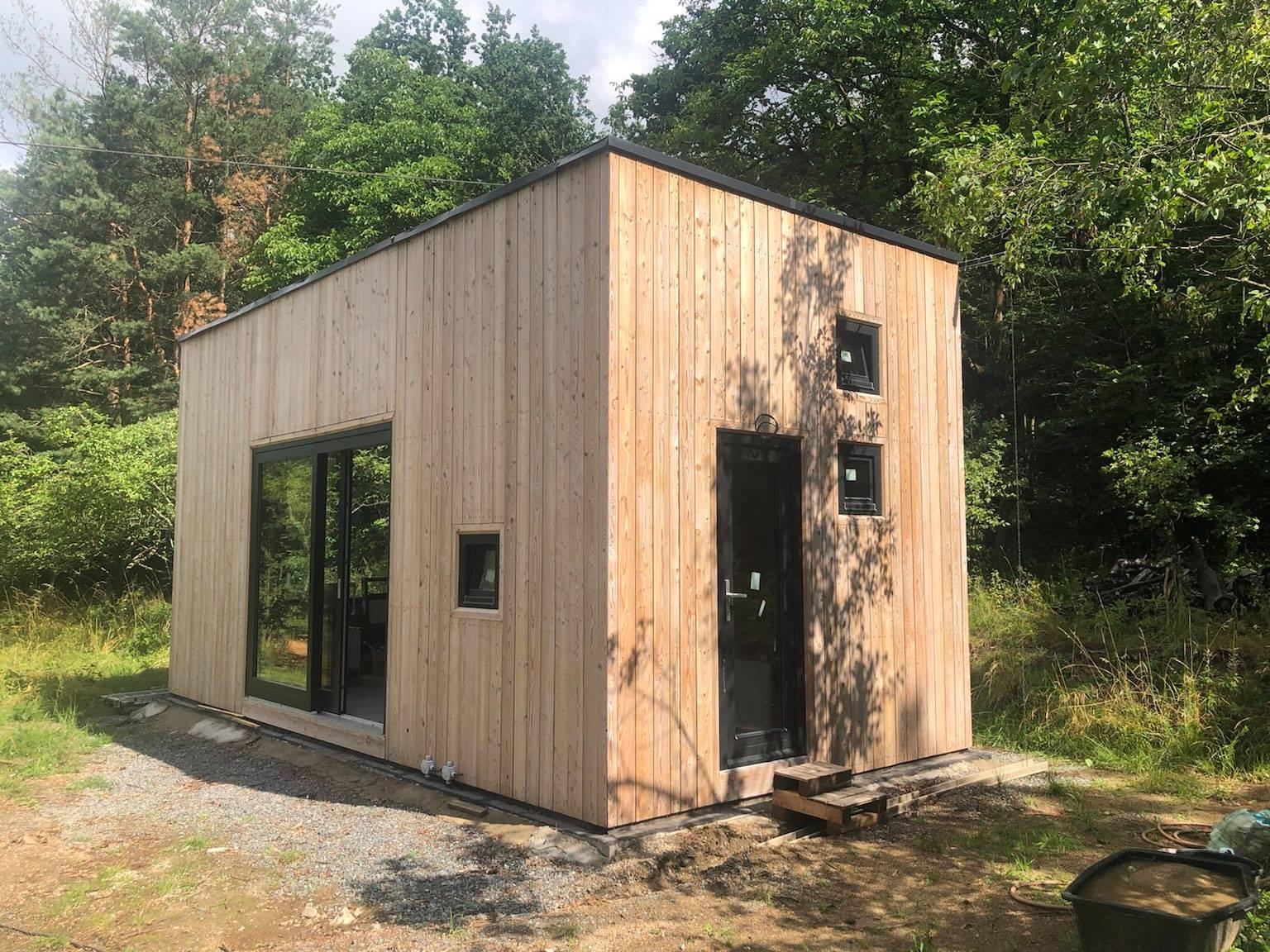 Impregnace dřevěných fasádních obkladů